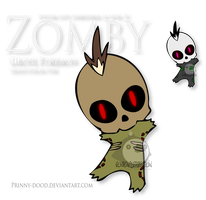 Fake Pokemon - Zomby by Prinny-Dood