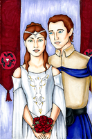 Alfstanna and Sebastian by SignCherie