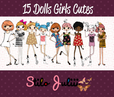 Cute Girls PNG'S By StiloJuliii by StiloJuliii