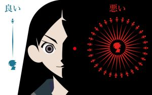 Good or Bad, your choice Zetsubou Sensei by Airkane