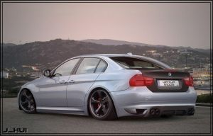 :.:BMW 335i REAR:.: by J-HUI