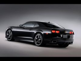 Chevrolet Camaro Black Concept by matsw007