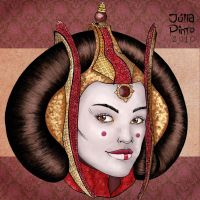 Star Wars - Queen Amidala II by juliapinto