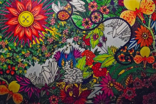 Flower Jungle by brittanany