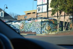 Athens Mural by Chellendora