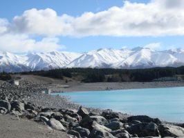NZ - Lake Pukaki 2 by Zenta123123