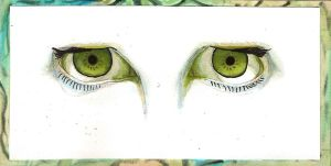 Green Eyes by sitres