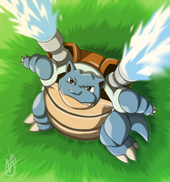 Blastoise by Sleeperstar