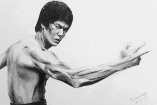 Bruce Lee by ChristiaanR1990