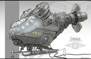 Vehicle design (colossus) by JonathanDufresne
