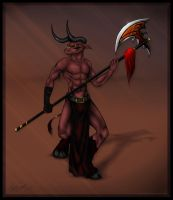 The Minotaur by Mystofeles