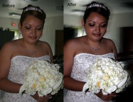 Wedding .Before and After. 2 by JenniferSpriggs