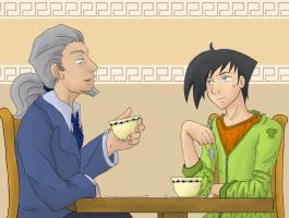 DP - Enjoying your Tea by MasterFranny