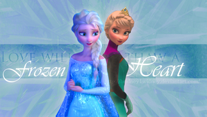 Elsa - Love will thaw a frozen heart by Bridney1widney