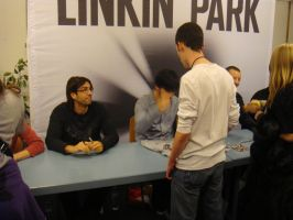 Linkin Park Meet and Greet by KyanaTheHedgehog