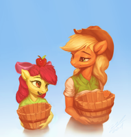 Apple Buckets by AssasinMonkey