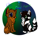 Chibi Lynn and Abbie by Feisty-Feline