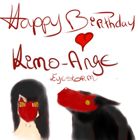 HappyBirthday Kimo-Ange ! by Ace-Of-Shadow
