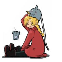 Ed and Al Elric Chibi by Darkeyeshadowtheo