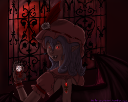 The Pocket Watch of Blood by StitchCometCreations