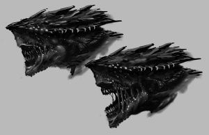 creature concept quick sletch by weihao