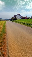 Country road into vibrant scenery by patrickjobst