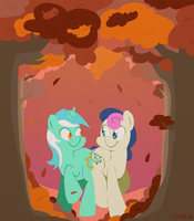 Fall Frolic by FrogAndCog