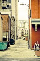 Alley in Chinatown, D.C. by digitalpharaoh
