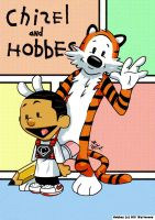 Chizel and Hobbes by Chizel-Man
