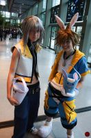 Riku and Easter Town Sora SC09 by SharinganLord216