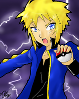 PKMN DP: Leader Volkner-color- by yomigaere
