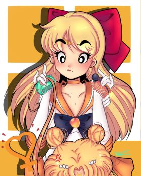 sailor Venus by Invader-celes