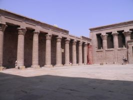 Edfu Temple 15 by thetamar