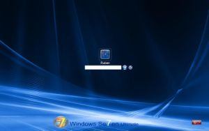 windows se7en for Logonxp by tosbsas