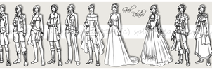 Gail Rhalos - Costume Sheet by Split-Heart