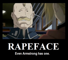 Demotivational: Rapeface by 64SuperNintendo