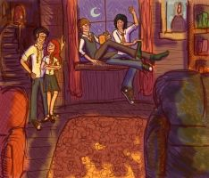 Common Room by hazelnut917