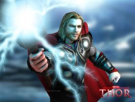 Thor: The Demi-God by Irishhips