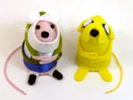 Adventure Time Ornaments by The-House-of-Mouse