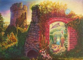 'Garden Portal' by Tolkyes