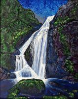 Waterfall 5 by jfkpaint