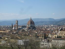 A View of Florence by Tokyogirl122