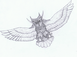 Swedesian Dire Owl by Littlecutter