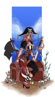 colored pirate by funeralwind