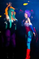 Morrian + Lilith by BertLePhoto