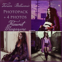 Troian Bellisario Flaunt Magazine photopack by N0xentra