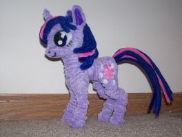 Pipe cleaner Twilight by SmakDaBunny