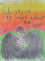 Justice was not there.... by Hawklegs