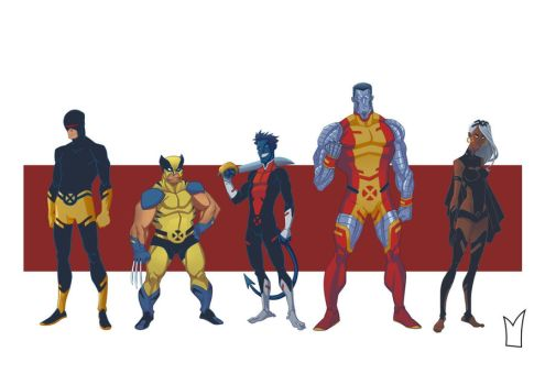 another X-men line up by gloooscap
