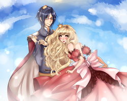 MM: The Prince and Princess by Umesshi